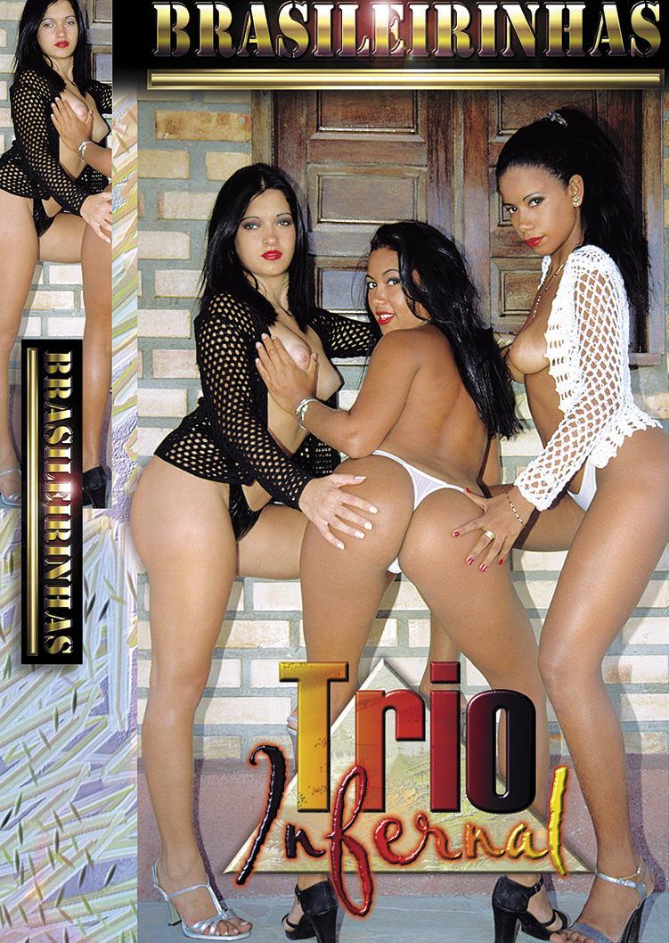 Capa frente do filme Trio Infernal