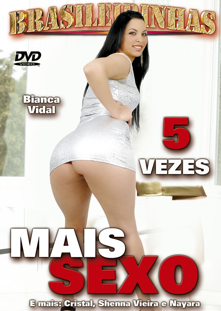 Capa frente do filme 5 Vezes Mais Sexo