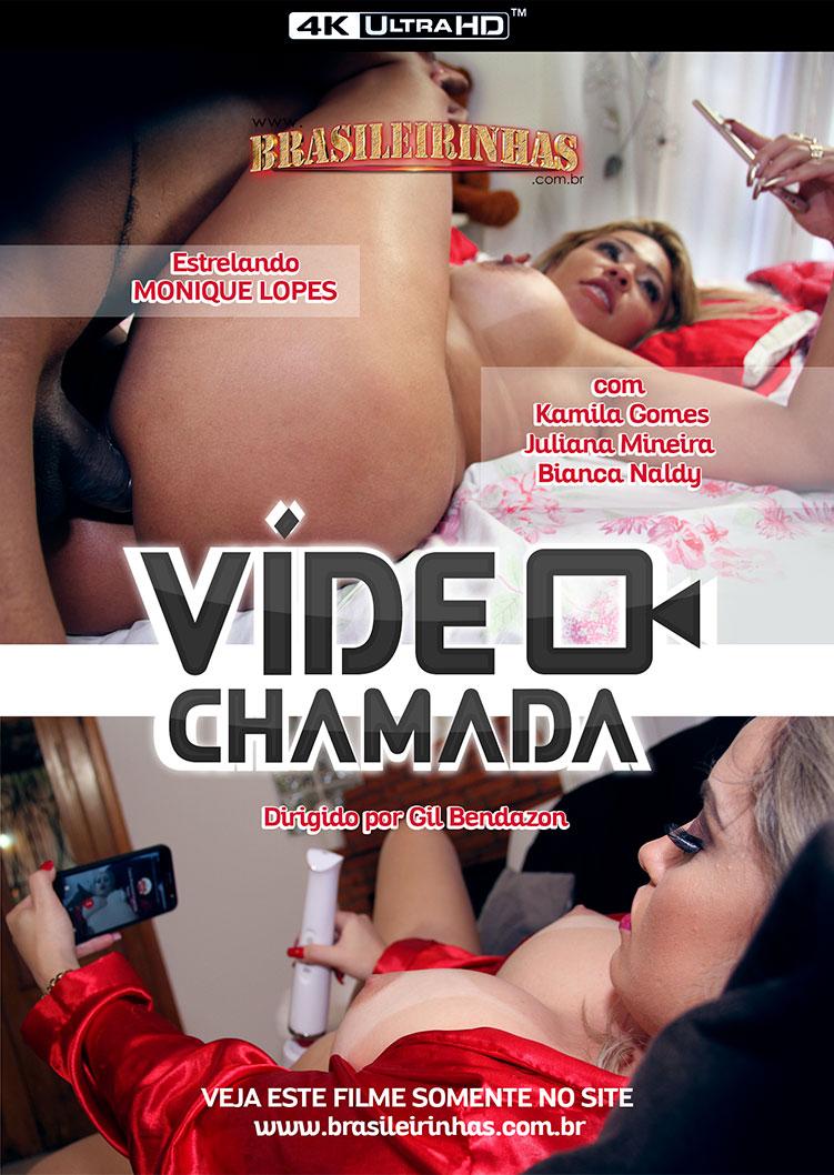 Capa frente do filme Vídeo Chamada