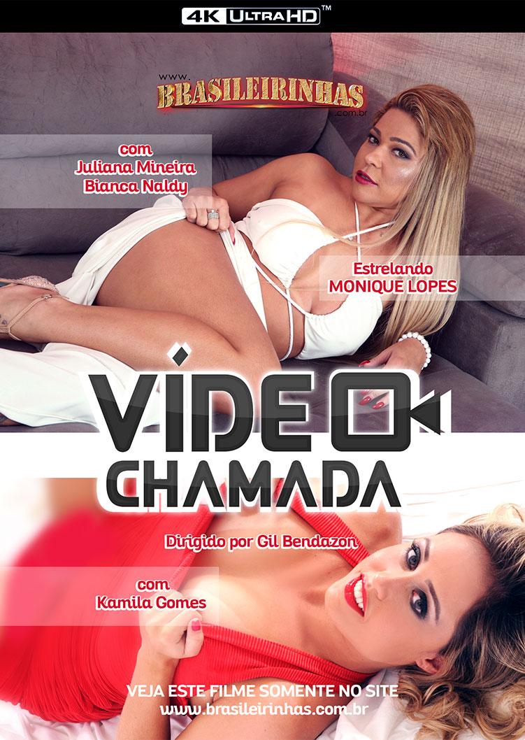 Capa Hard do filme Vídeo Chamada