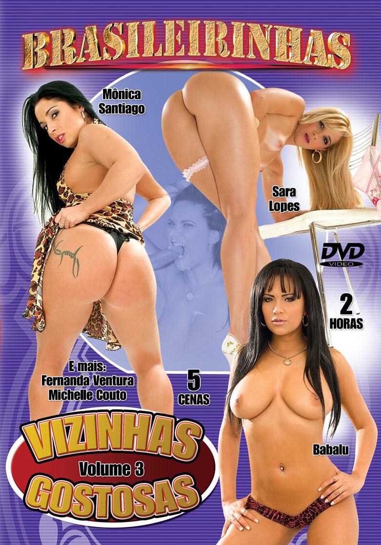 Capa frente do filme Vizinhas Gostosas 3