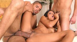 Trenzinho of meteção sex scene three bisexual