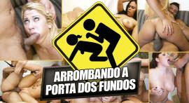 """Breaking the back door"" of muricio Mirela in Brasileirinhas"