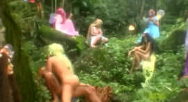 Fairies are horny crazy with Cris Bel giving the forest