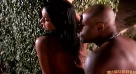 Luana faces well-endowed black man
