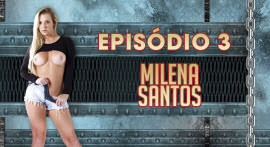 The hot blonde of Milena Santos is back