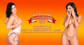 Thiara Fox and Sara Rosa warm up the season 21 atmosphere of the Casa das Brasileirinhas