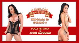 Joyce Jacomelli e Poly Petrova aprontaram todas na Casa