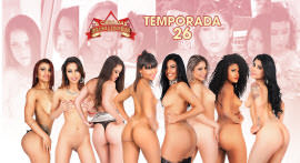 A 26º temporada da Casa das Brasileirinhas só tem mulher gostosa
