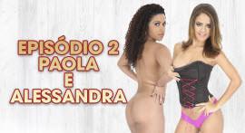 Paola Gurgel e Alessandra Carvalho curtiram a semana na Casa das Brasileirinhas