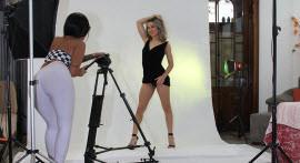 Amanda Souza photographed Alice Alcantara naked and couldn't resist