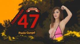 Paola Gurgel giving pussy at Casa das Brasileirinhas T47