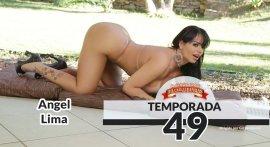 Angel Lima fucking naked at Casa das Brasileirinhas T49