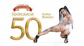 Evelyn Buarque cumming at Casa das Brasileirinhas T50