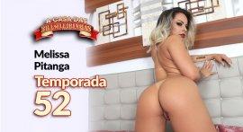 Melissa Pitanga porn blonde in reality porn show