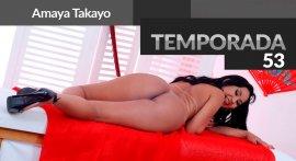 Amaya Takaio naked at Casa das Brasileirinhas T53