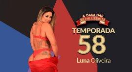 Luna Oliveira fucking in reality porn A Casa das Brasileirinhas