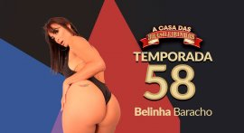 Belinha Baracho giving ass in Casa das Brasileirinhas