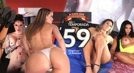 Trailer for the porn series A Casa das Brasileirinhas Season 59