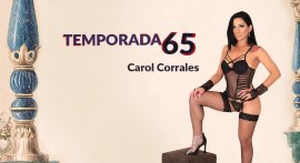 Carol Corrales gave a show on the reality porn show
