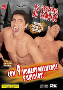 Filme do ator pornô gay Os Prazeres do Vampiro