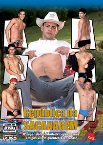 Filme do ator pornô gay República da Sacanagem