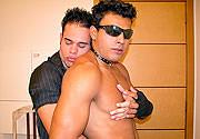 Striptease na sala
