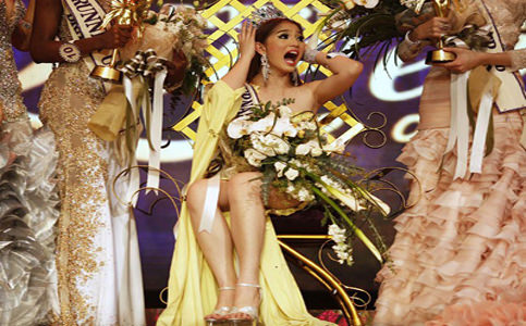 Filipinas vence concurso de beleza para transexuais