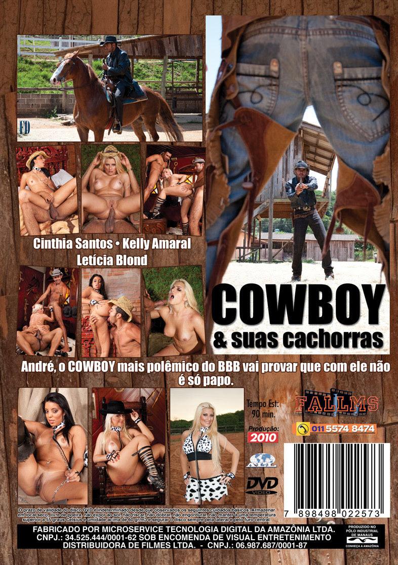 Capa De Tras Do Filme Cowboy E Suas Cachorras